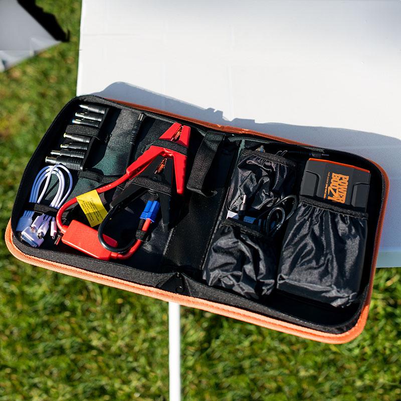 etui PowerBoozt accessoires powerbank stekker connector set