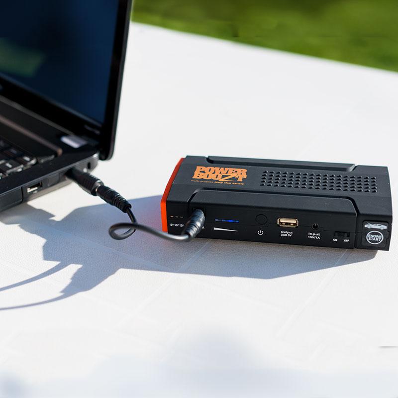 PowerBoozt auto oplader starthulp jumpstarter