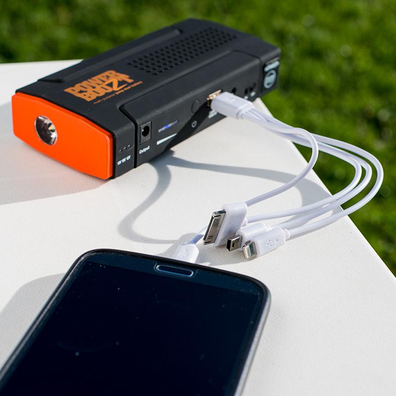 powerbank smartphone telefoon PowerBoozt